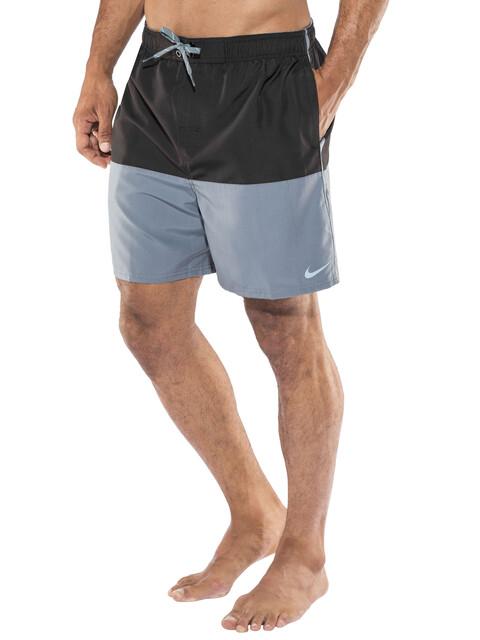 """Nike Swim Core Split Volley zwembroek Heren 5,5"""" grijs/zwart"""